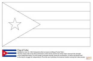 Flag Of Cuba Coloring Page Free Printable Coloring Pages Cuban Flag Coloring Page