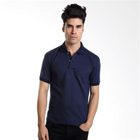 Kaos Krah Pria Polo Shirt Pendek Polo Shirt Polos jual jaket kemeja celana panjang pria vm harga