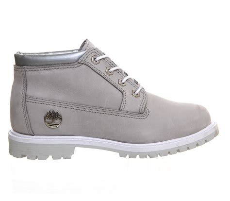 gray timberland boots timberland nellie chukka waterproof boots in gray