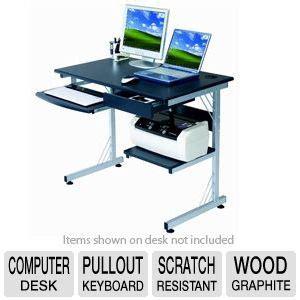 sharper image computer desk sharper image rta si2718 gph06 wood computer desk usb