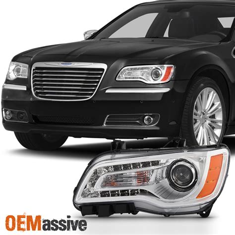 Chrysler 300 Headlight by 2011 2012 2013 2014 Chrysler 300 Halogen Type Projector