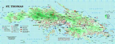 st map islands map of st usvi holidaymapq