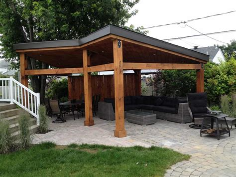 Gazebo On Patio Gazebos Custom Build Garden Pavilions Pur Patio