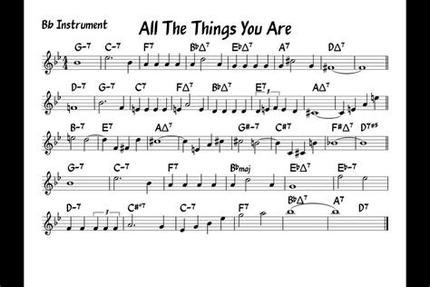 Buku All The Things You Are More Jerome Kern Songs Include Cd all the things you are play along bb version