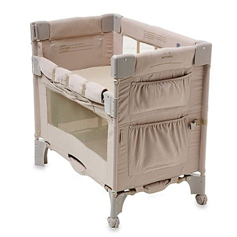 Mini Crib Co Sleeper Buy Arm S Reach 174 Mini Co Sleeper 174 Bassinet In Toffee From Bed Bath Beyond