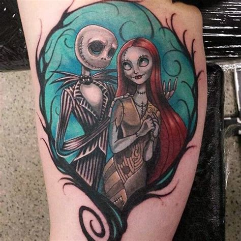 tattoo nightmares uk apply 40 cool nightmare before christmas tattoos designs
