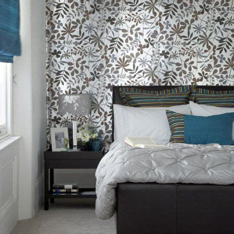 Modern Bedroom Wallpaper As Accent Wall Decorate