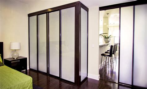 Free Standing Closet With Doors Freestanding Sliding Glass Closet Doors