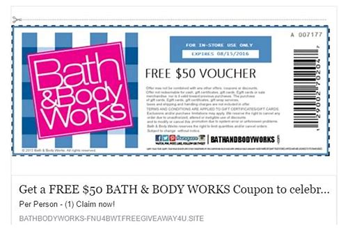 bath and body works canada coupon june 2018