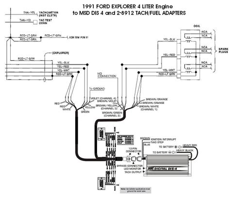 msd two step selector module wiring diagram msd wiring