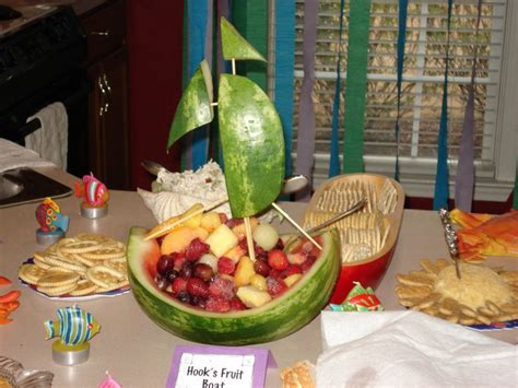 where the wild things are fruit boat 78 images about pirate birthday party ideas on pinterest