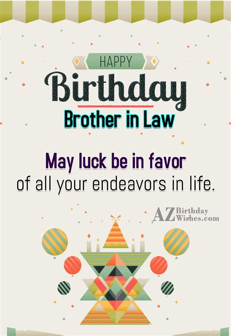 in law birthday wishes for brother in law