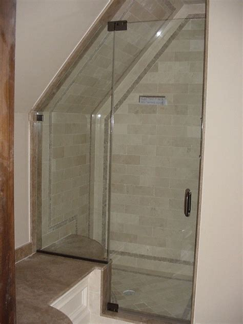 Angled Glass Shower Doors Frameless Shower Door Gallery Sterling Mirror Inc