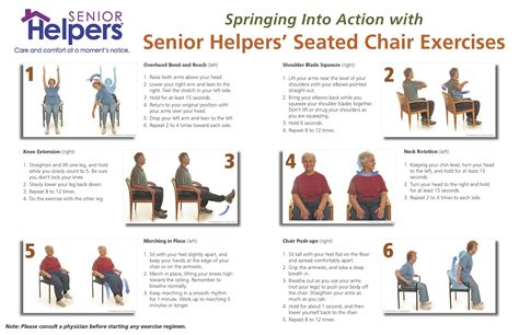 chair exercises for elderly adults into with seated chair excercises chair