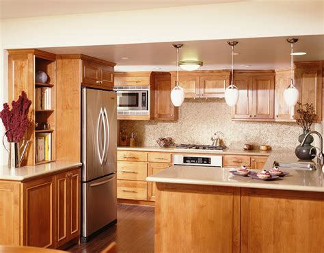 marvelous brown pine kitchen cabinet set with white