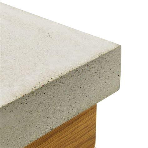 Cast Concrete Countertop by Square Flat Edge Cast In Place Concrete Countertop Forms Expressions Ltd