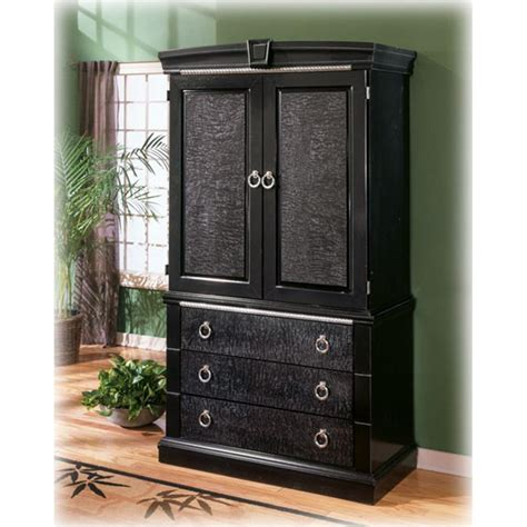 armoire ashley b313 49b ashley furniture south haven bedroom armoire base