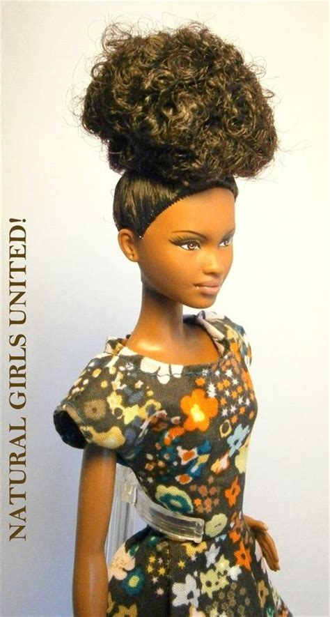 ethnic curly hair styles curly bouffant updo doll hair pinterest ethnic hair