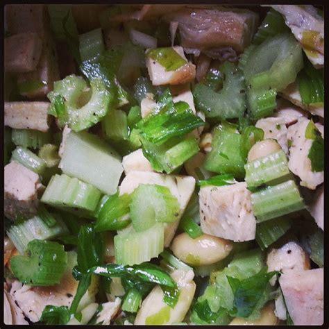 insalata pollo sedano insalata di pollo sedano e mandorle dal mio by
