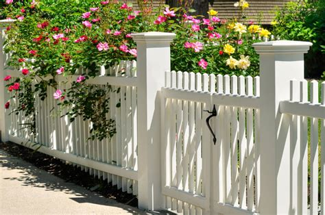 white backyard fence 101 fence designs styles and ideas backyard fencing and