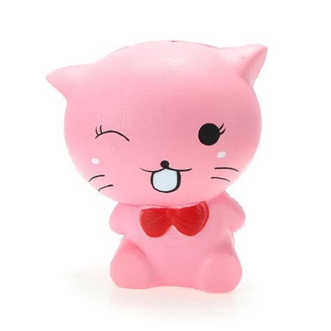 Soft And Slowrise Squishy Bathing Animal By squishy cat kitten 12cm soft rising animals collectie gift decor aanbiedingen