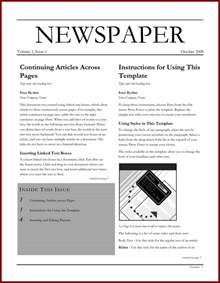 newspaper template blank newspaper template microsoft word www imgkid
