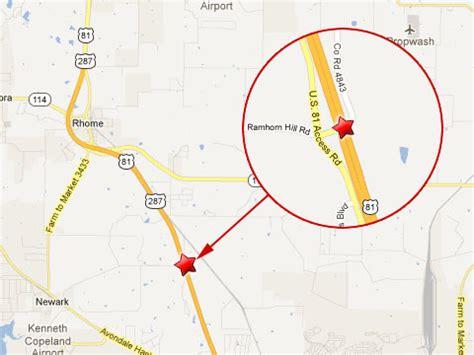 rhome texas map two semi trucks crash near rhome texas killing one driver truck lawyer news