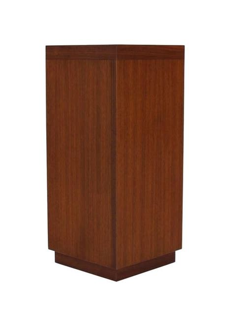 2 Shelf Corner Bookcase Two Tear Walnut Corner Shelf Bookcase At 1stdibs