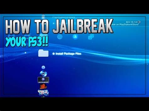 how to downgrade a ps3 with a usb how to quot jailbreak ps3 quot quot how to jailbreak your ps3