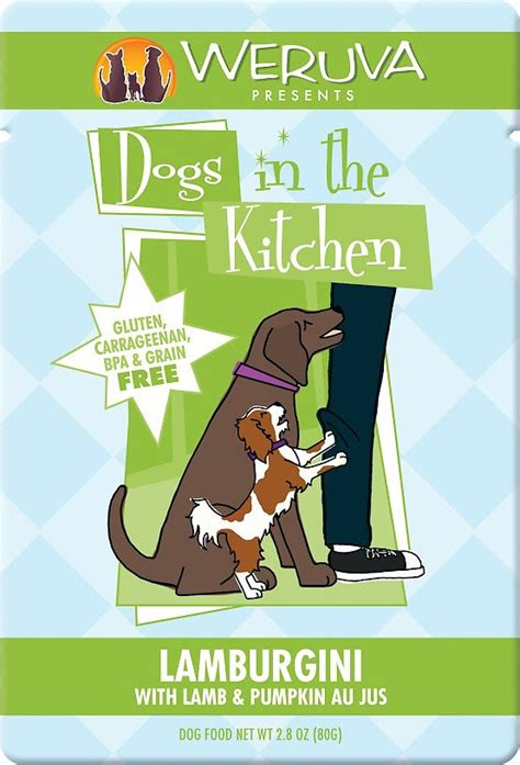 Dogs In The Kitchen Food by Weruva Dogs In The Kitchen Lamburgini With Pumpkin