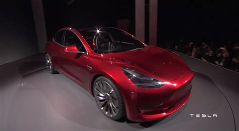 Tesla Model G The Tesla Model 3 Has Officially Been Revealed 50 Pics
