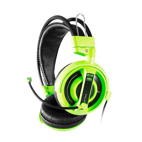 cobra professional gaming headset green tomauri