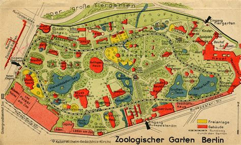 1930 Home Interior Berlin Zoo And Surrounding Areas The Elephant Gate