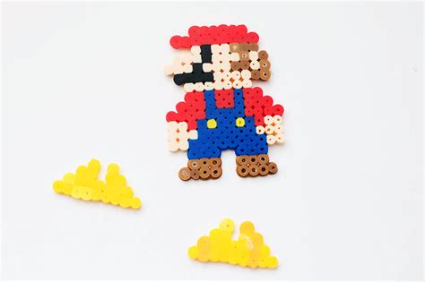 bead characters stand up perler bead characters with mario all for the boys