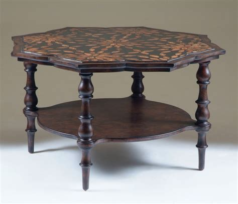 mahogany solid wood occasional coffee table