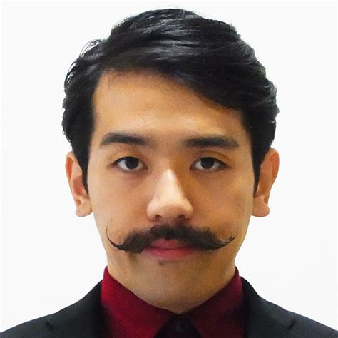 with mustache beard with mustache