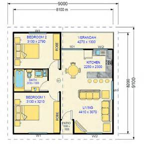 Granny Flat Floor Plans 2 Bedrooms Two Bedroom Granny Flat Design Kenneth