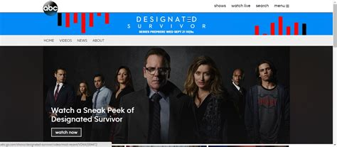 designated survivor free online watch designated survivor online streaming for free