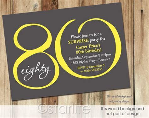 80 years of color books free printable 80th birthday invitations drevio