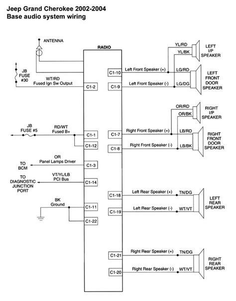 2011 jeep wrangler radio harness diagram html autos post