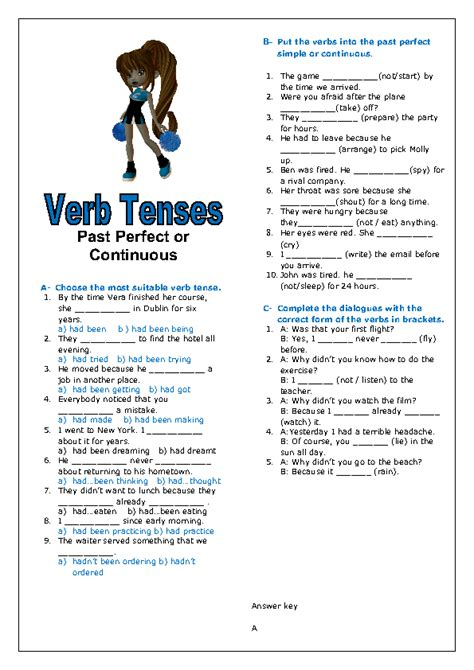 all worksheets 187 past perfect and past perfect continuous 26 free past perfect continuous worksheets