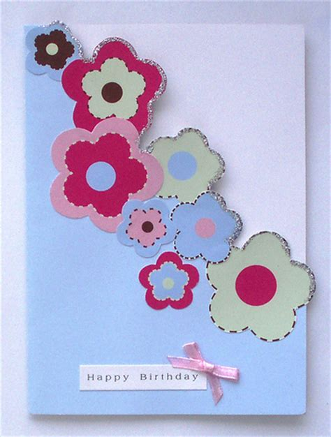 Birthday Handmade Card - handmade birthday cards for let s celebrate