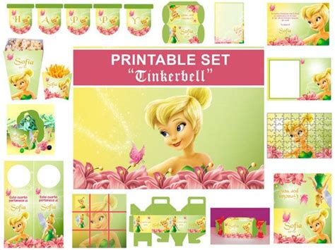 free printable tinkerbell birthday decorations 17 best images about mikayla party ideas on pinterest