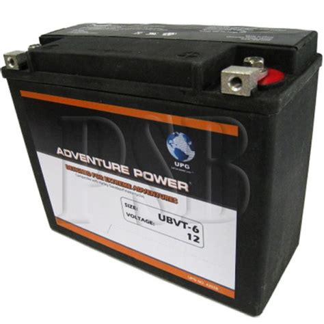 Harley Davidson Battery Replacement by Ubvt 6 Motorcycle Battery Replaces 66010 82 For Harley