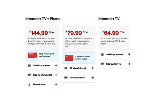 package deals for tv internet and phone