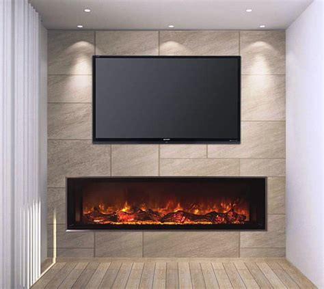 Big Screen Tv Fireplace by 3 Benefits Of Choosing Modern Electric Fireplace Midcityeast