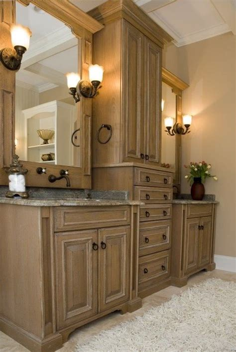 vanity linen cabinet with her 17 best images about bathroom on master bath