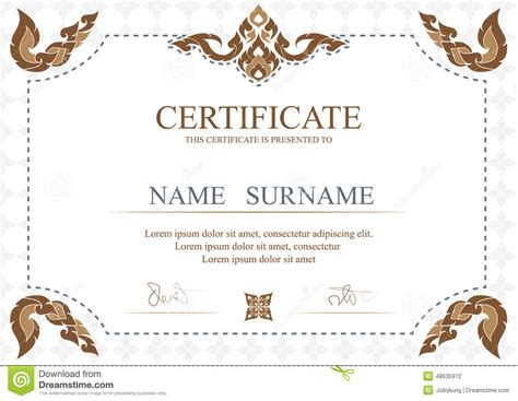 certificate layout design template certificate diploma new certificate template design stock