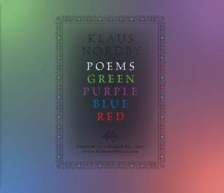 poems about the color purple book poems green purple blue by klaus nordby reviews