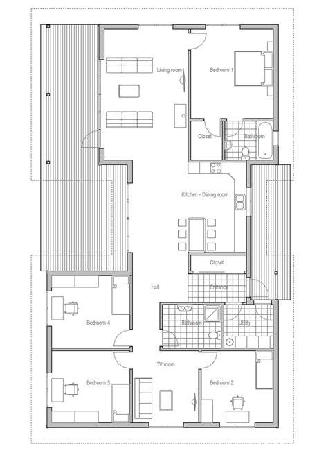 affordable house plans affordable home ch36 detailed construction blueprints house plan